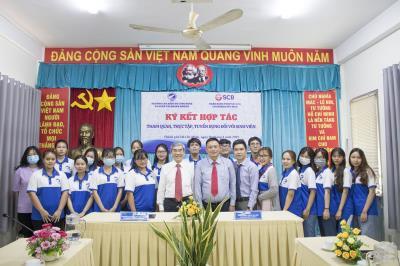 Ngân hàng TMCP Sài Gòn (SCB) ký kết hợp tác tuyển dụng SV Ngành Tài chính Ngân hàng