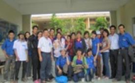 Chiến dịch mùa hè xanh để lại nhiều kỷ niệm đẹp và khó quên đối với các chiến sĩ tình nguyện CTIM