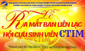 Lễ ra mắt Ban liên lạc Hội cựu sinh viên Trường Cao đẳng CTIM