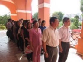 CTIM dâng hương Kỷ niệm 125 năm ngày sinh Chủ tịch Hồ Chí Minh