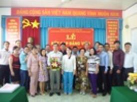 Lễ kết nạp Đảng viên mới cho Cán bộ quản lý CTIM