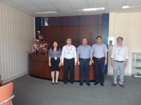 Đại diện lãnh đạo trường Cao Đẳng Bán công Công Nghệ và Quản Trị Doanh Nghiêp (CTIM) đã có buổi đến thăm, cảm ơn Công ty TNHH Kondo Việt Nam