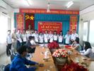 Lễ kết nạp công đoàn viên Công đoàn năm 2013
