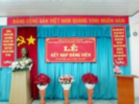 Lễ kết nạp đảng viên mới năm 2014