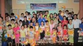 CTIM vui hội trăng rằm cùng trẻ em nghèo xã Hiệp Phước - Nhà Bè