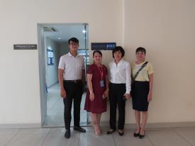 Trường Cao đẳng Bán công Công nghệ và Quản trị doanh nghiệp (CTIM) đã có buổi ghé thăm và làm việc, trao đổi về việc kí kết hợp tác với Công  ty Cổ phần Quản lý và Khai thác toàn nhà VNPT (PMC)