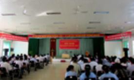 Học tập Nghị quyết Trung ương 8- khóa XI