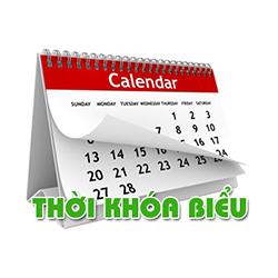 Thời Khóa biểu Học kỳ 2 năm học 2019-2020 (Khóa 20 và Khóa 21)