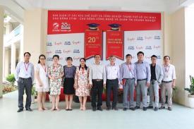 Trường Cao đẳng bán công Công nghệ và Quản trị doanh nghiệp (CTIM) đã có buổi gặp mặt và làm việc với Viện Nghiên cứu Giáo dục và Quản trị Kinh doanh (EBM)