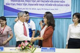 Ngân hàng BIDV ký kết tuyển dụng sinh viên ngành TCNH của CTIM