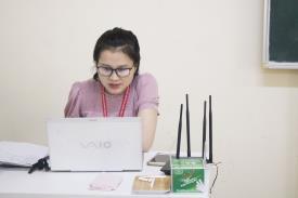 Niềm vui nhỏ - Hạnh phúc lớn trong giờ học trực tuyến