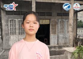 Nguyễn Thị Như Ý - cựu HS THPT Long Bình - Tân SV nhận học bổng toàn phần năm học 2021-2022