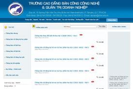 Hướng dẫn sinh viên sử dụng cổng thông tin đào tạo online.ctim.edu.vn