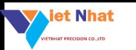 Công ty TNHH Sản Xuất Cơ Khí Chính Xác Việt Nhật tuyển dụng tháng 04/2021