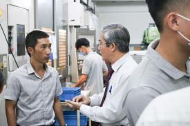 Buổi ghé thăm cựu SV và ký kết hợp tác tại Công ty TNHH SX TM DV Đại Thành