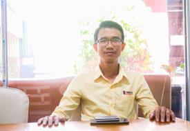Cựu SV ngành Điện - Điện tử, hiện là Giám đốc Điều hành của Cty TNHH Kỹ Thuật Triệu Lê