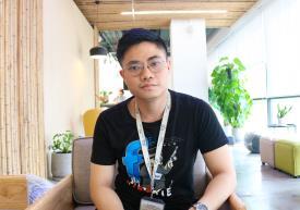 Anh Lê Công Hậu - Editor và Designer của Công ty TNHH Quốc tế VeSA, Đài Loan