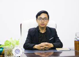 Phan Đình Chuyền - cựu SV K.10 ngành CNTT - Giám đốc Công ty TNHH Truyền thông và  Quảng cáo Siêu Kinh doanh