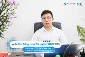 Gặp gỡ Anh Trần Kim Đồng và dàn cựu sinh viên thành đạt tại Khải Hoàn Land