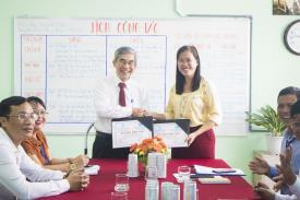 Ký kết hợp tác với Trung tâm dự báo nhu cầu nhân lực và thông tin thị trường lao động TP. HCM