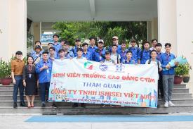Sinh viên Khối Kỹ thuật K21 tham quan và trải nghiệm thực tế tại Công ty TNHH ISHISEI Việt Nam