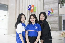 Tham quan FPT Telecom cùng SV Khoa Kinh tế, khoa Ngoại ngữ