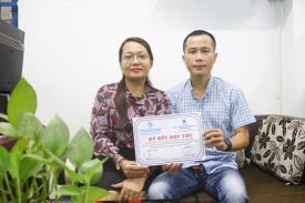Anh Lê Hồng Vương - Giám đốc Công ty TNHH TM DV Khải Thịnh Phát - cựu SV ngành Cơ khí của CTIM