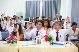 Hội nghị Người Lao động năm học 2019 - 2020.