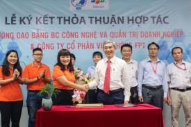 FPT Telecom chính thức ký kết hợp tác tuyển dụng, đào tạo với Cao đẳng CTIM