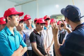 Sinh viên Khoa Cơ khí tham quan thực tế tại Công ty ISHISEI Việt Nam