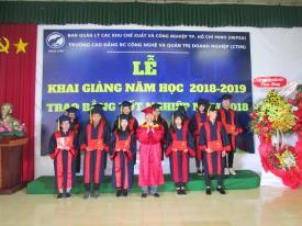 Lễ khai giảng năm học mới 2018 – 2019 và Trao bằng tốt nghiệp năm 2018