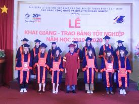 Lễ khai giảng năm học mới 2019– 2020 và Trao bằng tốt nghiệp năm 2019