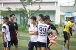 Sôi động giải bóng đá Cúp Tứ hùng của SV K22