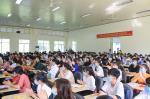 Lễ Khai giảng đợt 1 chào đón Tân Sinh viên K22, hoành tráng, sôi động nhưng cũng đầy cảm xúc